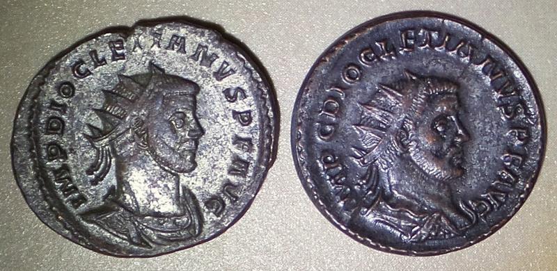 Pour les amateurs de Diocletien - not in RIC 2016-137