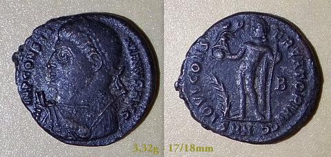 Les Constantins Ier et Constantins II de Rayban35 Charge16