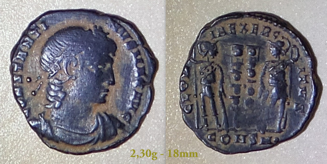 Les Constantins Ier et Constantins II de Rayban35 Charge19