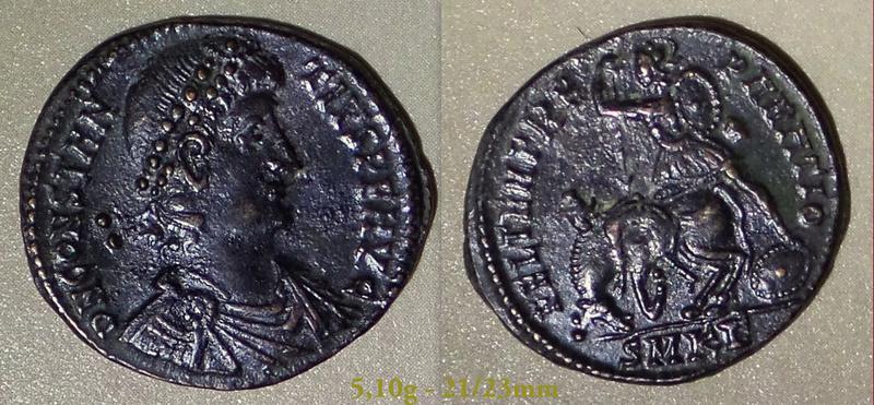 Les Constances II, ses Césars et ces opposants par Rayban35 - Page 4 Charge75