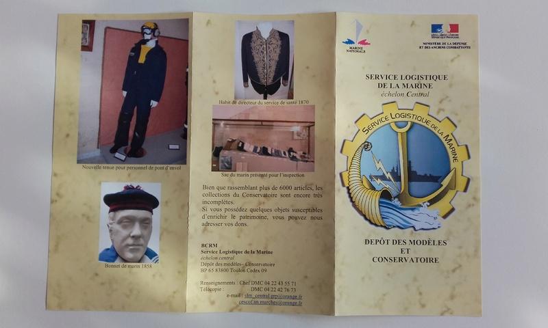 [ Les musées en rapport avec la Marine ] Conservatoire des tenues à Toulon 03611