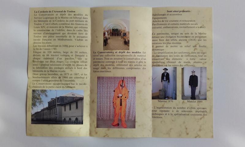 [ Les musées en rapport avec la Marine ] Conservatoire des tenues à Toulon 03711