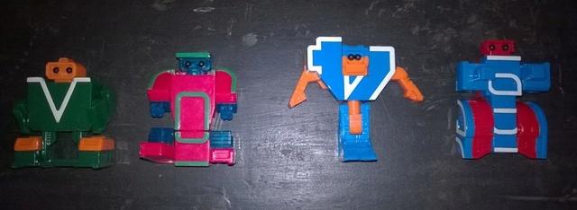 robot - 13 LETTERE / NUMERI ROBOT TRANSFORMER  Letter10