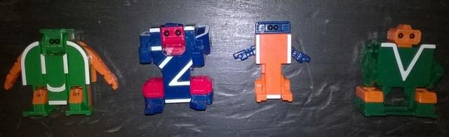 robot - 13 LETTERE / NUMERI ROBOT TRANSFORMER  Letter11