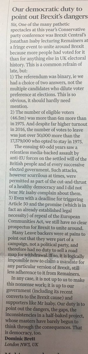 Open letter to the UK's 450 MPs who support membership of the EU - Page 2 Brexit11