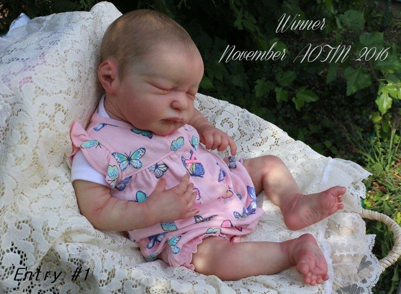 AOTM NOVEMBER 2016 CONTEST - WINNER - Angela of Endless Cuddles Reborn Nursery Aotm_110