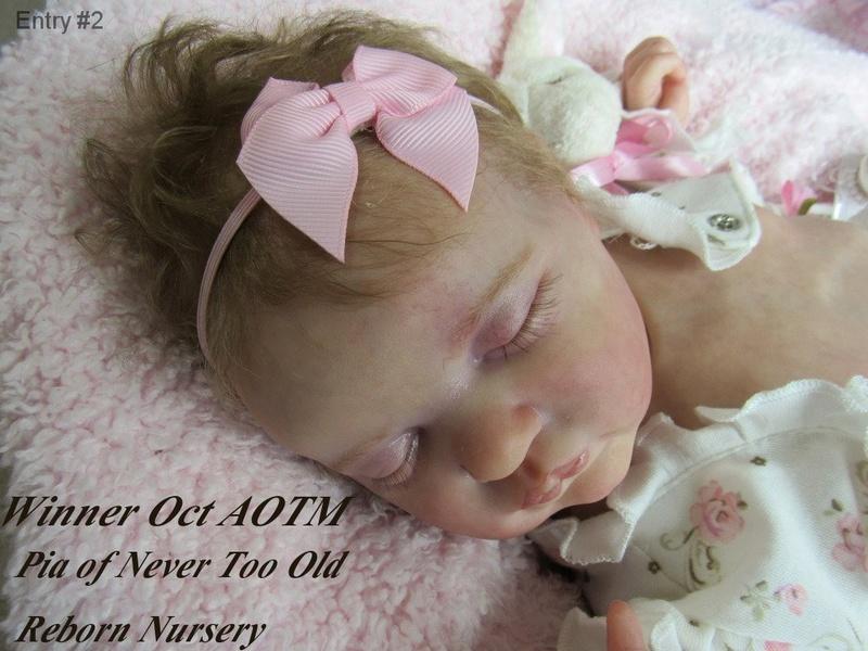 AOTM Oct. 2016 Contest ~~~  Winner Pia of Never Too Old Reborn Nursery Winner10