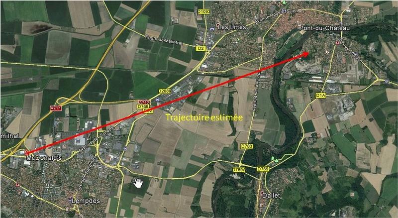2016: le 28/09 à 20h  - Ovale gris f points lumineux deux côté -  Ovnis à Lempdes - Puy-de-Dôme (dép.63) Lempde10