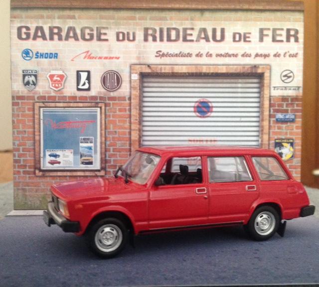 Diorama garage + LADA BA3-2104 au 1/43°. Fullsi10