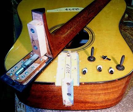 Sauvetage d'une guitare Bourge10