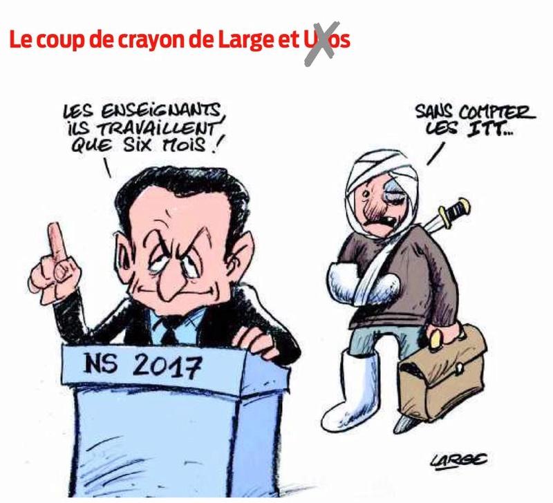 Le prof, cette grosse feignasse aux yeux de Sarkozy - Page 5 14708310