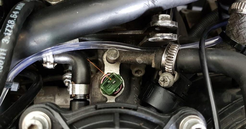 Schéma électrique commande post chauffage 405 diesel Turbo phase 2 Capteu10
