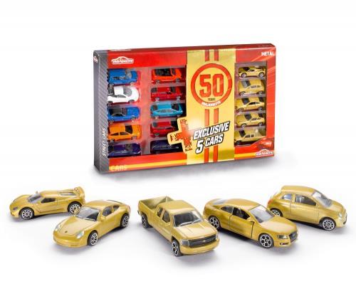 15 voitures 50 ans Majorette 1505-110