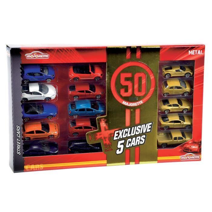 15 voitures 50 ans Majorette Majore10