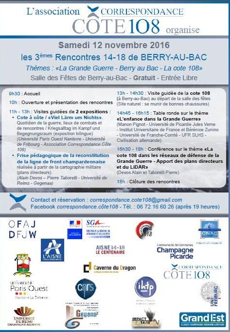 Journée 14-18 à Berry au Bac le 12 novembre 2016 Bab20110