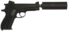 Smith and Wesson Mk.22 Mod 0 Hush Puppy Tranquilizer Pistol