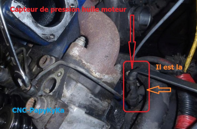 jauge pression d'huile Captu118
