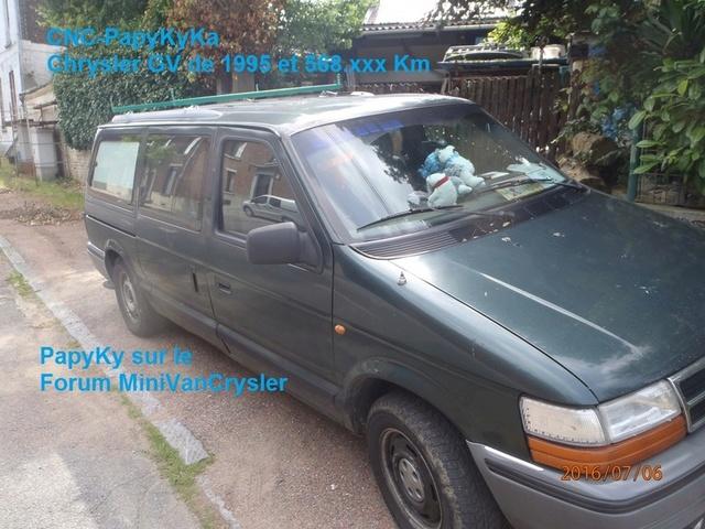 Freins Cyrsler Voyager 1994 AWD P7060012