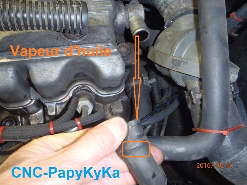Fuite d'huile moteur 2.5 TD - 1995. Pa160019