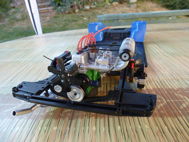 """Suite du montage chassis de ma """"Gordini"""" P1090015"""