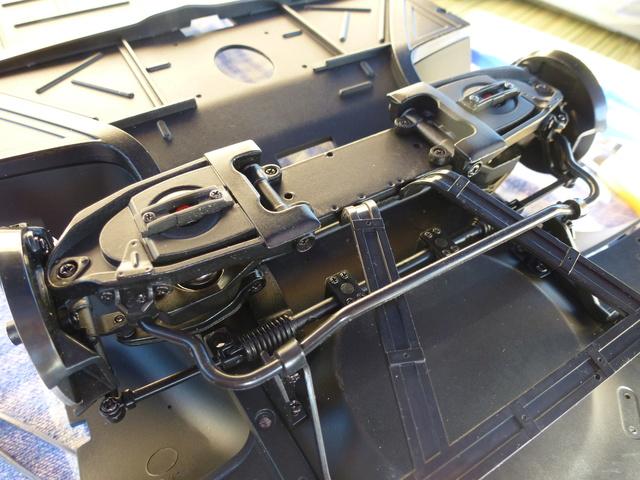 """Suite du montage chassis de ma """"Gordini"""" P1090017"""