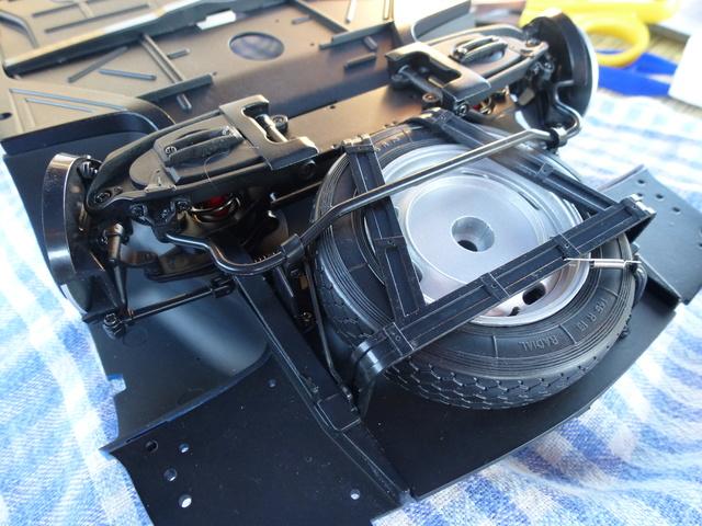 """Suite du montage chassis de ma """"Gordini"""" P1090018"""