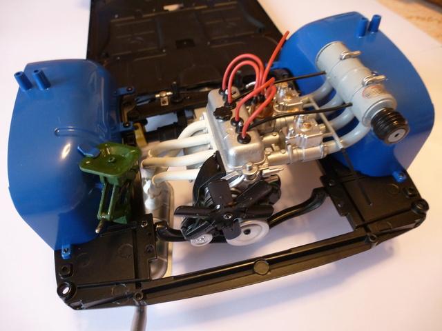"""Suite du montage chassis de ma """"Gordini"""" P1090111"""