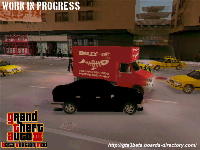 Grand Theft Auto III: Beta Version Mod (Reboot)