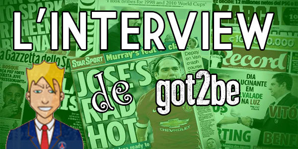 Interview de got2be Itv10