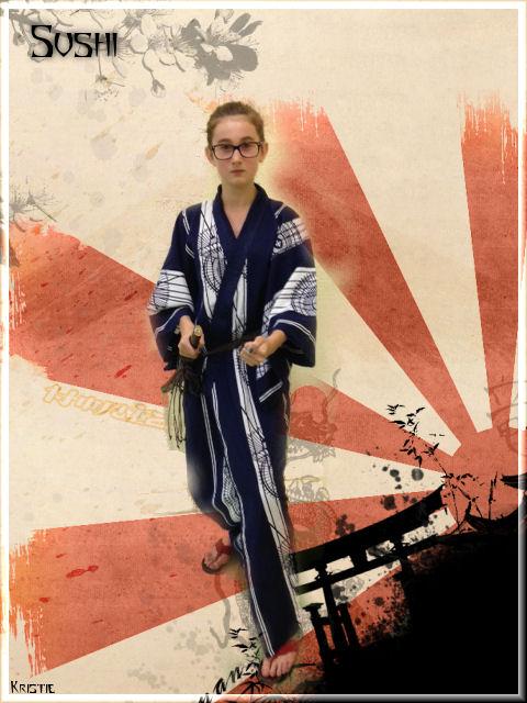 Les photos de notre prochaine pièce de théâtre Sushi10