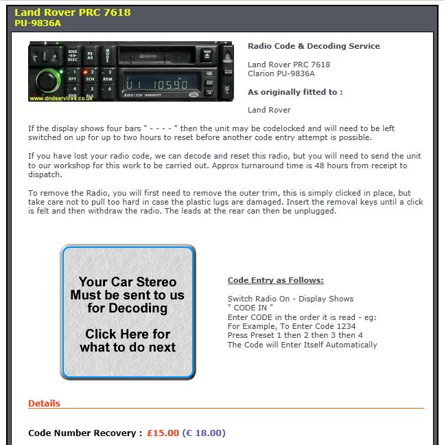 problème auto radio Recupy10