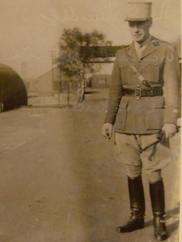 Lieutenant Dufaur de Gavardie de Monclar (Henri) , 501e RCC Dufaur10