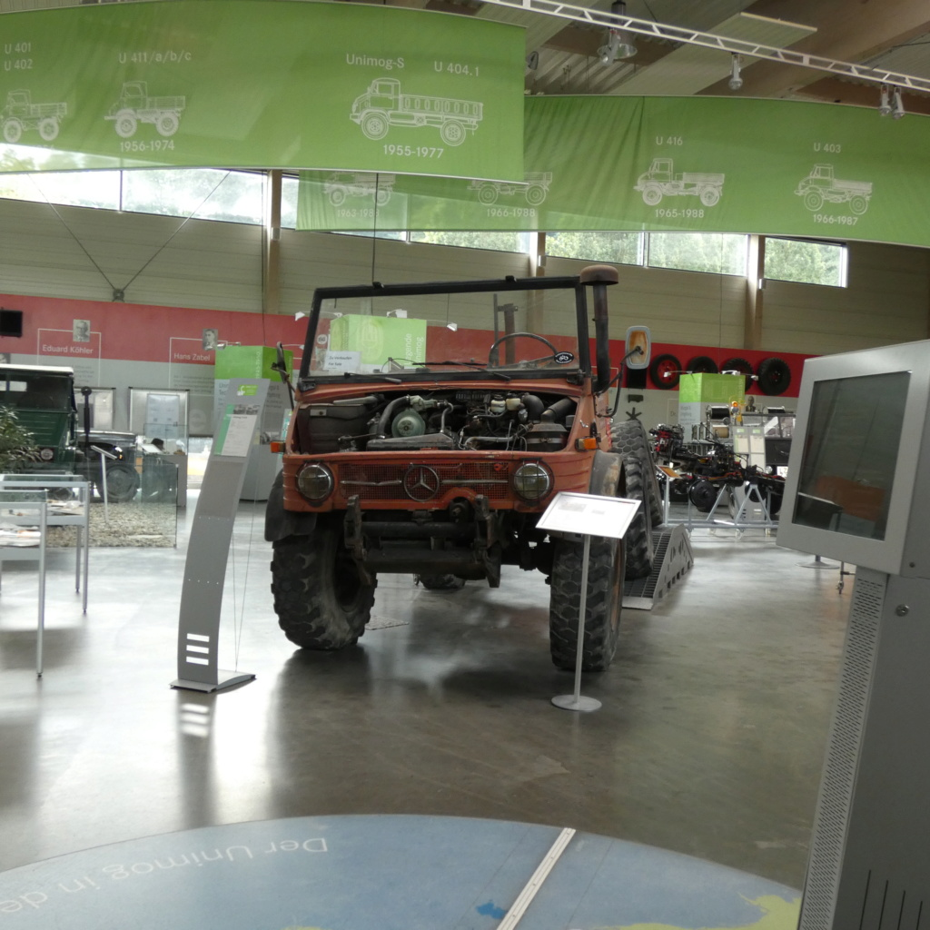 visite du musée unimog P1020521