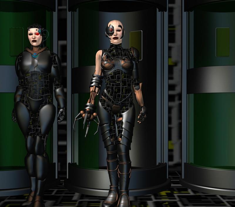 Créations diverses autour de Star trek Borg10