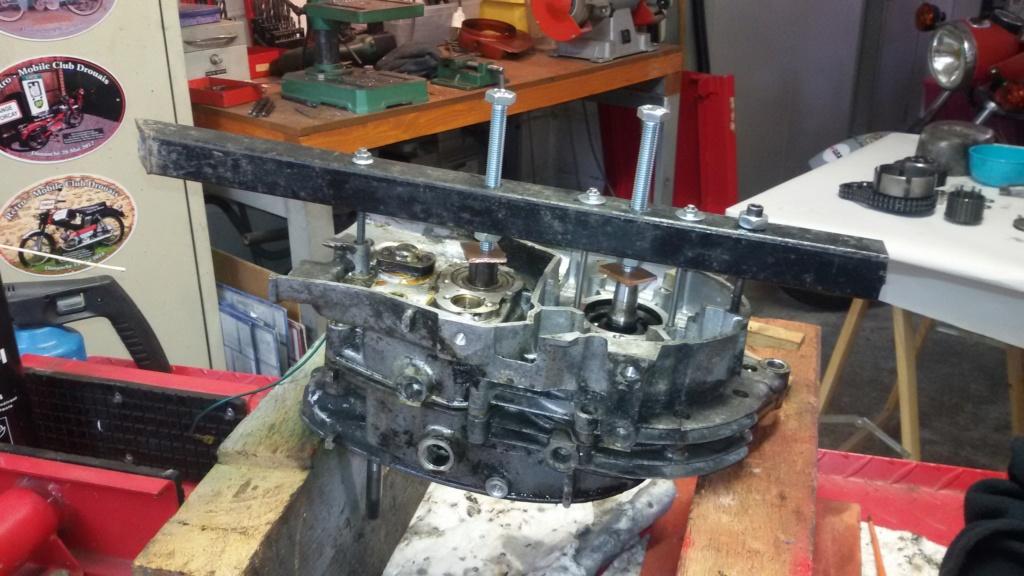 Remise en état moteur 125 TS 1211