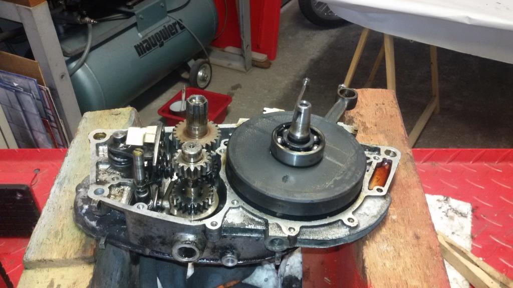 Remise en état moteur 125 TS 1310