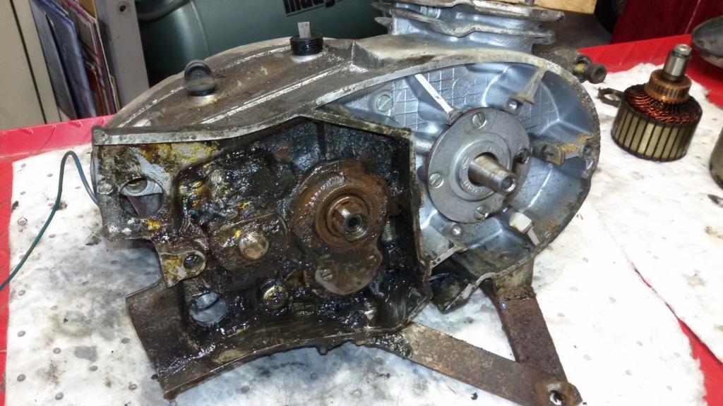 Remise en état moteur 125 TS 410