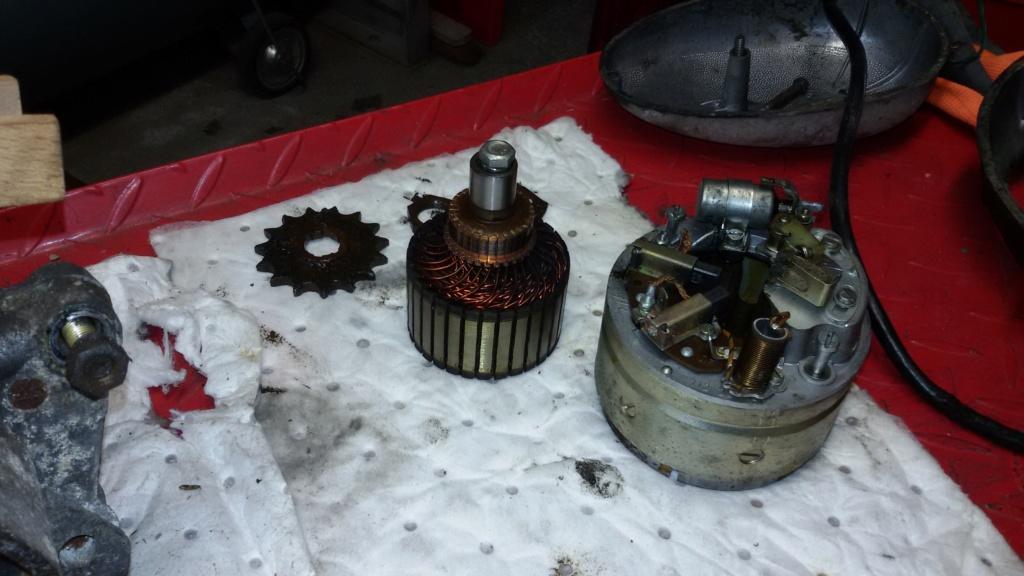 Remise en état moteur 125 TS 510