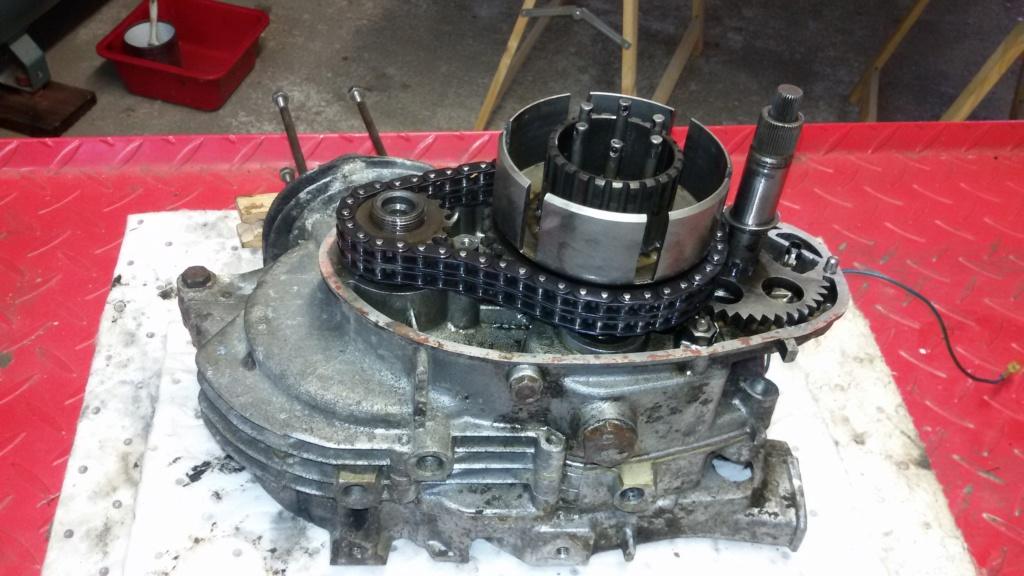 Remise en état moteur 125 TS 810