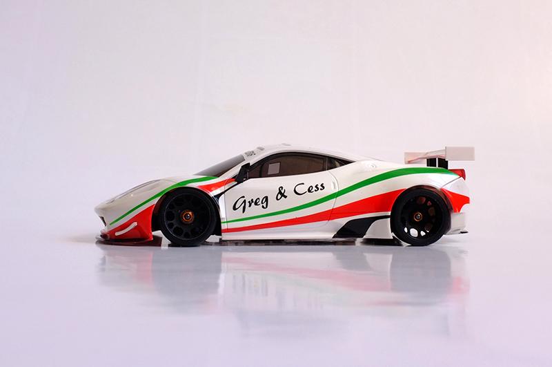 """Ferrari F458 """"Just Married"""" 00211"""
