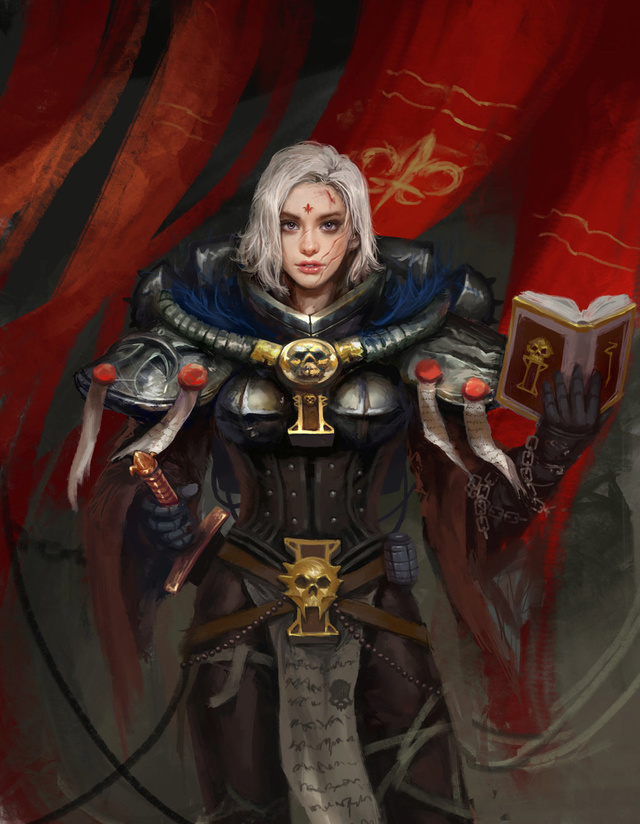 Chanoinesse Amelda et ses subordonnées Battle13
