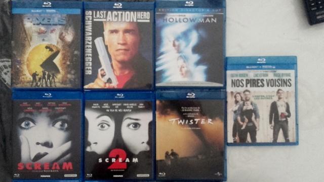 Les DVD et Blu Ray que vous venez d'acheter, que vous avez entre les mains 20161010