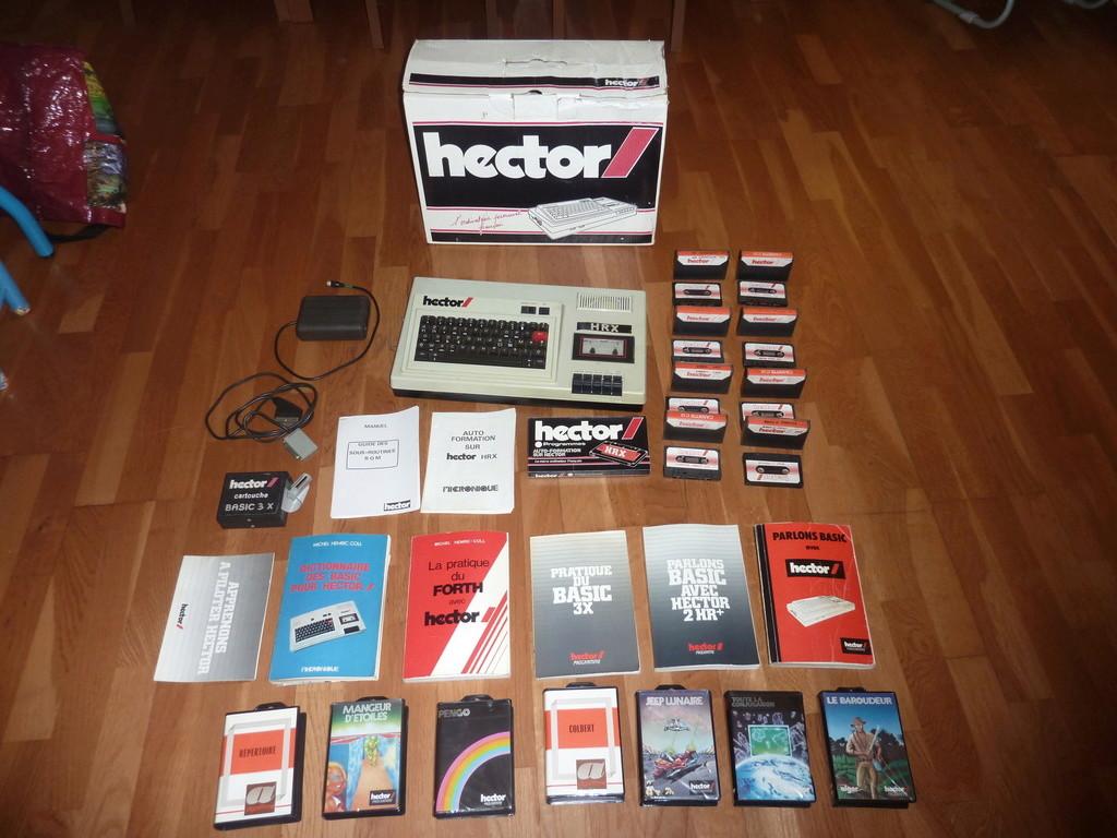 IDENTIFICATION et ESTIM ordinateur HECTOR en boite + lot P1070615