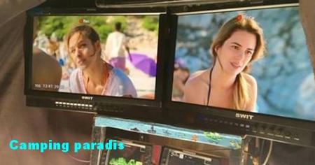 2 actrices de PBLV dans le 50ème épisode de « Camping Paradis » Campin11