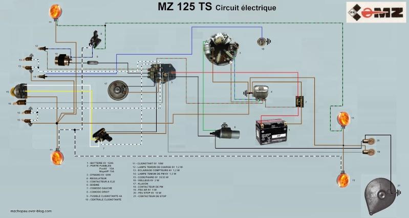 Restauration de ma MZ 125 TS de 1976 - Page 2 Circui10