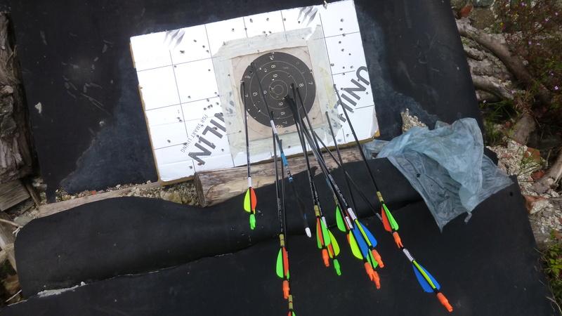 Invitation au tir à l'arc 2016 à Sprimont P1070310