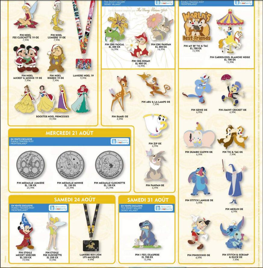 Le Pin Trading à Disneyland Paris - Page 3 D10