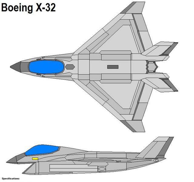 What-if XF-32 Boeing10
