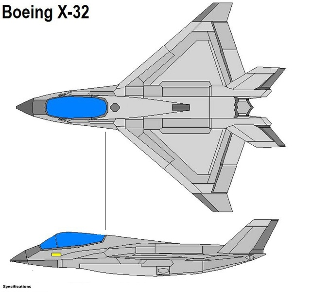 What-if XF-32 Boeing11