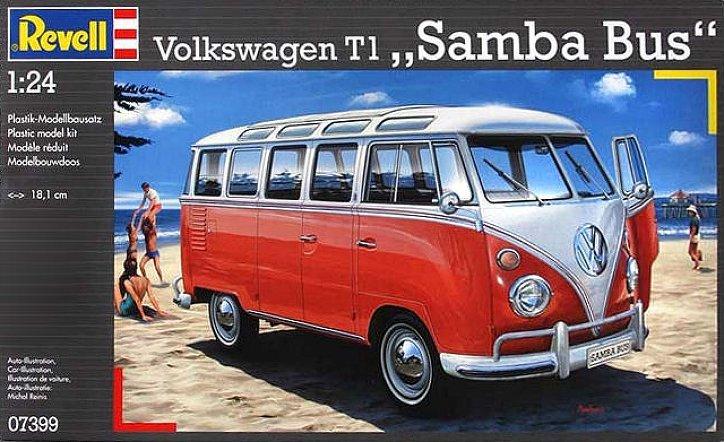 Volkswagen Samba Bus T1 21 Fenêtres Revell 09/10/2016 Samba_10